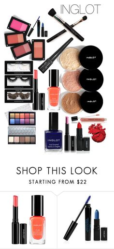 """INGLOT"" by chrisannevisagie ❤ liked on Polyvore featuring beauty, Inglot, makeup and inglot"
