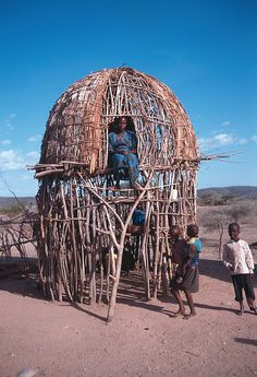 It is interesting to note that the Turkana living along the Kerio River around the areas of Lokori build their homes on stilts. This style, found nowhere else in the district, suits conditions where the terrain becomes a quagmire during heavy rainfall (Pavitt, 1997). It also lessens the problem of termite infestation and increases air circulation, thus reducing the risk of malaria.