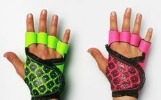 Couture Weight Training Gloves with Frills