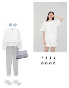 """""""Untitled #1843"""" by yenybarriot ❤ liked on Polyvore featuring Villain, Toga, Moncler, Givenchy and Ray-Ban"""