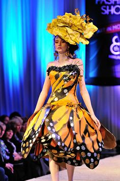 Great butterfly interpretation and fashion up-breeding!