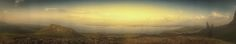 Sunset Panorama at The Old Man of Storr (Isle of Skye, Scotland. Gustavo Thomas © 2014)