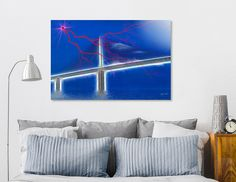 Discover «Skyway Fantasy», Limited Edition Aluminum Print by Glink - From $99 - Curioos