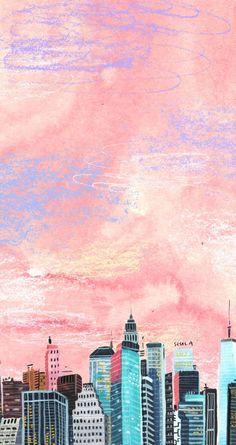 Wall Paper Phone Pastel Sky New Ideas Painting Wallpaper, Screen Wallpaper, Cool Wallpaper, Pattern Wallpaper, Watercolor Wallpaper Phone, Artistic Wallpaper, Perfect Wallpaper, Wallpaper Ideas, Phone Backgrounds