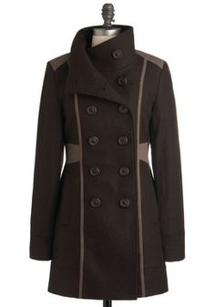 so perfect. can someone lend me $219.99? [Know Your Tracks Coat, #ModCloth]