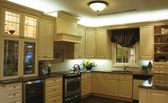 iluminacion interior - led en cocina