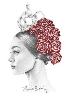 Portrait de beauté ES15 original Dolce et par AnnabelleKingg