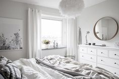 SummerSunHomeArt.Etsy.Com - Inspiration | Minimalist Home Decor Ideas, White Interior, Modern Vintage, Bedroom, Living Room, Bathroom, Kitchen, Grey, Office, Apartment, Ikea, Linen Bedding