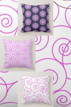 Accent your home with custom pillows from Zazzle and make yourself the envy of the neighborhood. Made from high-quality Simplex knit fabric, these 100% polyester pillows are soft and wrinkle-free. #pillow #throw #homedecor #home #interiordesign #interiors #interiorstyling #pillows #bedroom #bedroomdecor #zazzle #zazzlemade #zazzlecom #zazzlestore #flowers #summer #spring #white #black #pink Boat Decor, Tropical Design, Floral Pillows, Cotton Bedding, Custom Pillows, Your Design, Envy, Great Gifts, Bedroom Decor