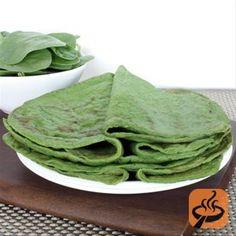 Paleo Spinach Crepes recipe