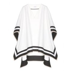 mytheresa.com - Poncho in lana - Corti - Cappotti - Abbigliamento - Luxury Fashion for Women / Designer clothing, shoes, bags