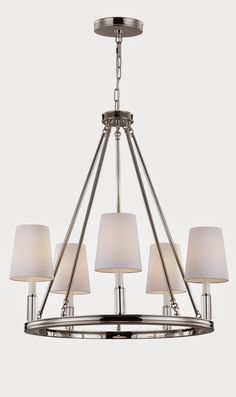 Cool Tone Chandeliers