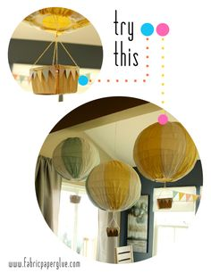 Try This: Hot Air Balloons