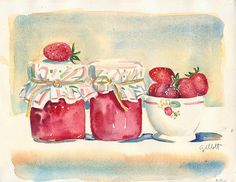 One day soon I will attempt to make homemade jam.