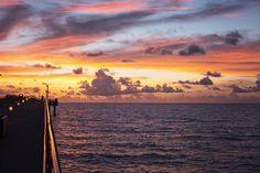 Sonnenuntergang Miami #SoMiami #TGIF
