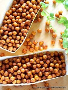 Tasty Dumpling: Kichererbsen a la Crunchy - Gourmet Recipes, Vegan Recipes, Cooking Recipes, Sausage Recipes, Healthy Snacks, Healthy Eating, Food Inspiration, Food Print, Food To Make
