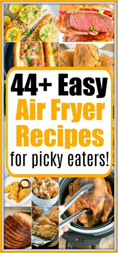 Recipes For Picky Eaters Easy air fryer recipes for picky eaters are here! Recipes For Picky Eaters Easy air fryer recipes for picky eaters are here! Air Fryer Fish Recipes, Air Fryer Recipes Appetizers, Air Fry Recipes, Air Fryer Dinner Recipes, Cooking Recipes, Air Fryer Rotisserie Recipes, Easy Recipes, Healthy Recipes, Air Fryer Cooking Times