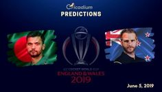 The ninth match of the World Cup 2019 will see Bangladesh taking on New Zealand at Kennington Oval, Londonon June 5. Keep reading to find out the ICC World Cup 2019 Match 9 Bangladesh vs New Zealand Match Prediction. Both teams have made a great start in the tournament. While New Zealand defeated Sri Lanka […] The Pacer, Live Matches, Cricket World Cup, Who Will Win, Knock Knock, Sri Lanka, New Zealand, Victorious