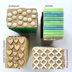 http://gelliarts.blogspot.com/ Make your own woodblock stamps for Gelli printing. Great video ****
