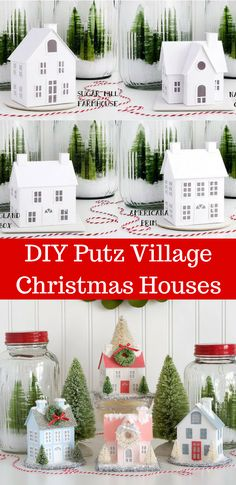 Dust off your creative holiday spirit & celebrate the holidays with handmade gifts & ornaments!#ad#Christmascrafts#Christmas#putzhouse