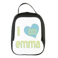 8a5f423ef73e9 I Love Emma Lying Game Neoprene Lunch Bag -- from Auntie Shoe  thelyinggame
