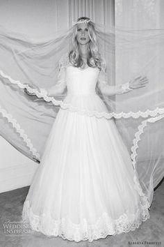 http://weddinginspirasi.com/2012/02/09/alberta-ferretti-wedding-dresses-forever-2012-bridal-collection/  alberta ferretti bridal 2012  #weddings #weddingdress #longsleeveweddingdress
