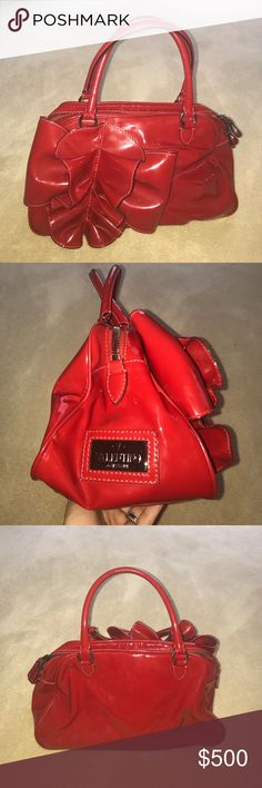 778bd23d372 Gorgeous Patent leather Valentino bag Beautiful red patent leather  Valentino bag... 100%
