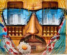 Brazilian street art | Graffiti Art Designs Gallery: Artful graffiti in Olinda Brazil - South ...