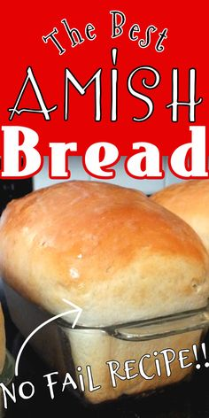 Amish Recipes, Easy Bread Recipes, Baking Recipes, Kitchen Aid Recipes, Dutch Oven Recipes, Banana Bread Recipes, Simple Recipes, Best Bread Recipe, Fluffy Bread Recipe