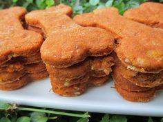 Creamy Tomato Chicken Dog Treat/Biscuit Recipe :: Doggy Dessert Chef