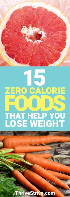 Weight Loss Tips - 15 zero calorie foods that help you lose weight.