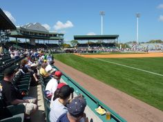 McKechnie Field, Bradenton, Florida. Spring training home of the Pittsburg Pirates