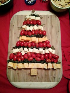 Cheese tree! So easy and delicious!