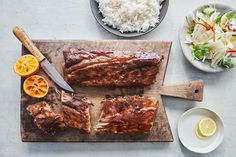 Whether you're after sausages and burgers, chicken wings and ribs, or those all-important sides, we've got you covered. Here are our best bbq recipes. Best Bbq Recipes, Barbecue Recipes, Jamie Oliver Fish Recipes, Lobster And Burger, Roasted Potato Salads, Trout Recipes, Best Pasta Salad, Joy Of Cooking, Homemade Sauce