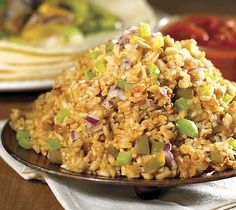 Spanish-style Brown Rice:   A whole-grain version that's great with Mexican-style entrées.