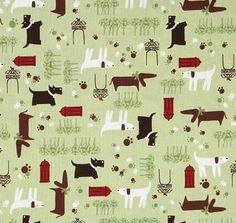 dog fabric - Google Search
