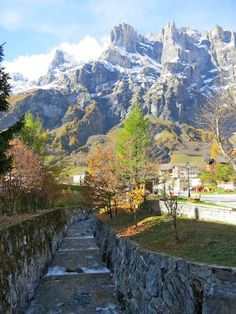 Leukerbad. A spa town in the Swiss Alps offers some of the best views in Switzerland, as well as hot springs, hiking and skiing.