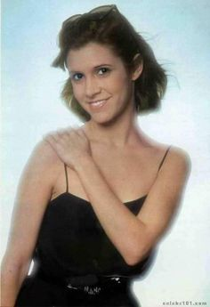 When Princess Leia (Carrie Fisher) was young. Description from pinterest.com. I searched for this on bing.com/images