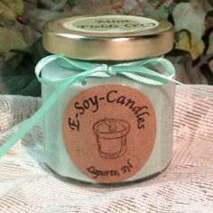 Mint Fields 4 oz Soy Candle
