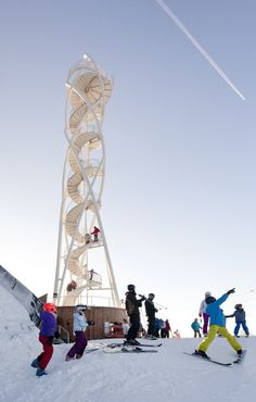 Fajtuv Observation Tower / Studio acht