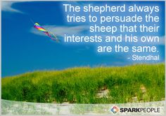 Motivational Quote of the Day by Stendhal