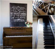 O Holy Night printable for piano | Peanut Blossom