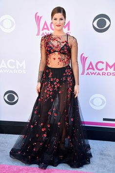 Recording artist Cassadee Pope attends the 52nd Academy Of Country Music Awards at Toshiba Plaza on April 2, 2017 in Las Vegas, Nevada.