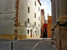 Plaça de l'Església i carrer d'en Simó.