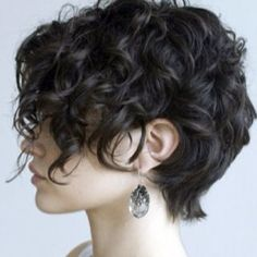options for Short Curly Hair. like this but too much in my face? will my hair even do that?