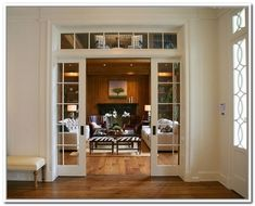 exterior door with transom photo - 4