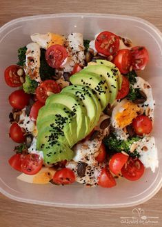 Slow Food, Healthy Salad Recipes, Coleslaw, Gluten Free Recipes, Healthy Lifestyle, Food And Drink, Healthy Eating, Cooking Recipes, Tasty