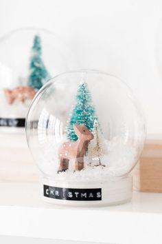 Homemade Christmas Snow Globes plus 31 DIY Christmas Gift Ideas  on Frugal Coupon Living #snowglobes #christmascrafts #christmas #christmasgifts #giftguide #diychristmas