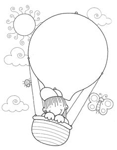 Art Drawings For Kids, Doodle Drawings, Drawing For Kids, Art For Kids, Colouring Pages, Coloring Pages For Kids, Coloring Books, Doodle Frames, Notebook Cover Design