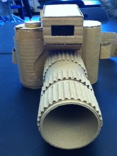 Cardboard camera.